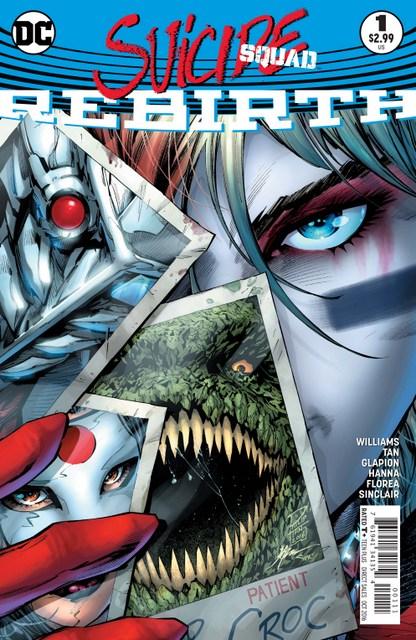 Suicide Squad Rebirth issue 1 - cover