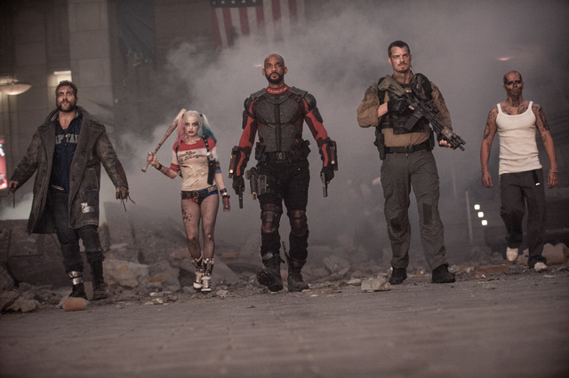 Suicide-Squad-movie-Boomerang-Harley-Quinn-Deadshot-Rick-Flag-and-El-Diablo