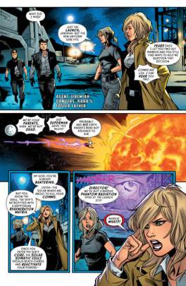 Supergirl Rebirth #1 review page 4
