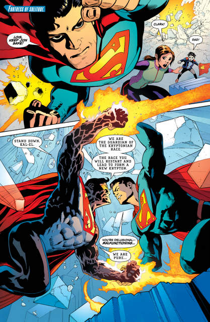 Superman issue 4 Son of Superman page 1