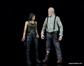 The Walking Dead Maggie Green figure McFarlane Toys -scale with Herschel Walking Dead