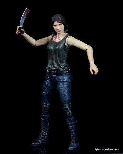 The Walking Dead Maggie Green figure McFarlane Toys -with blade