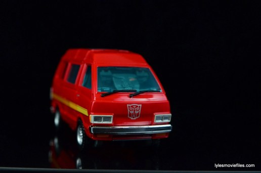 Transformers Masterpiece Ironhide figure review -front side