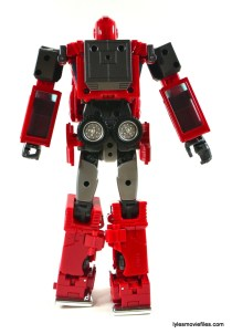 Transformers Masterpiece Ironhide figure review - rear