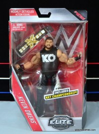 WWE Elite 43 Kevin Owens figure review - front package