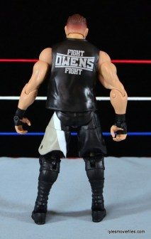 WWE Elite 43 Kevin Owens figure review - rear
