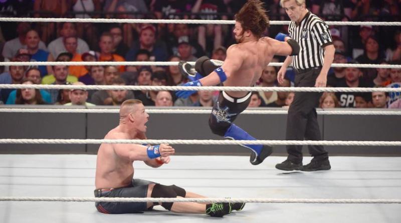 WWE SummerSlam 2016 - John Cena vs AJ Styles