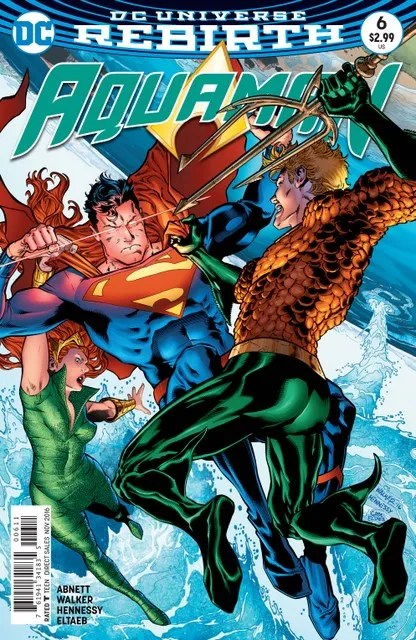 Aquaman #6 cover