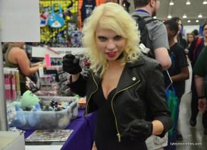 Baltimore Comic Con 2016 - Black Canary close up