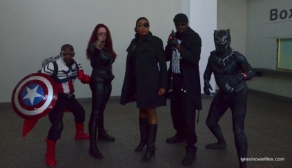 Baltimore Comic Con 2016 - Captain America, Black Widow, Nick Fury, Black Panther and SHIELD agents