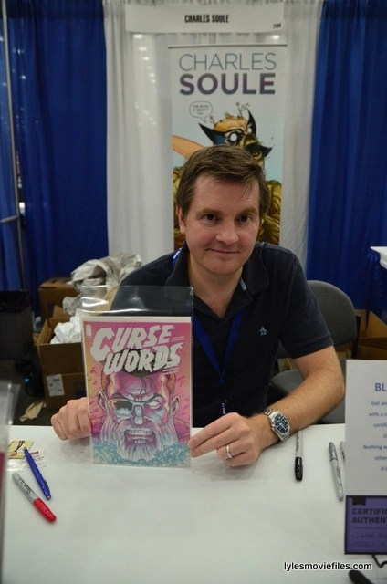 Baltimore Comic Con 2016 - Charles Soule