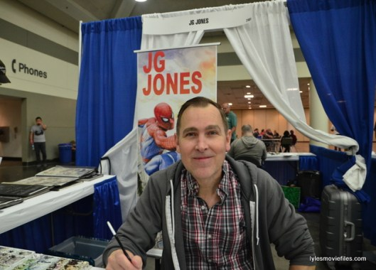 Baltimore Comic Con 2016 - JG Jones