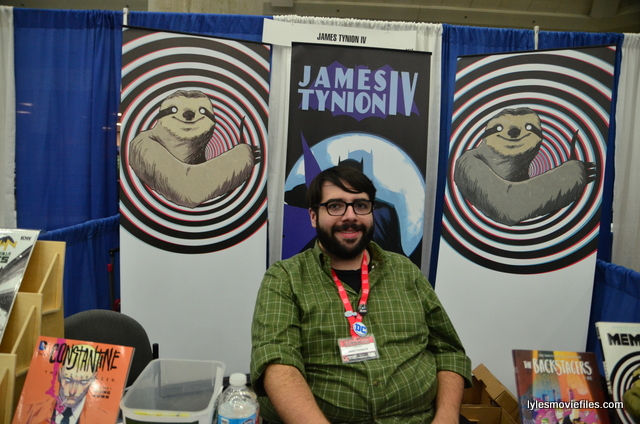 Baltimore Comic Con 2016 - James Tynion IV