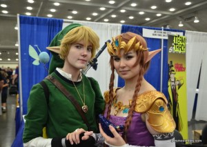 Baltimore Comic Con 2016 - Link and Zelda