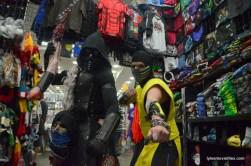 Baltimore Comic Con 2016 - Noob Saibot and Scorpion