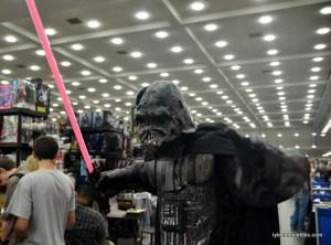 Baltimore Comic Con 2016 - burnt Darth Vader close up