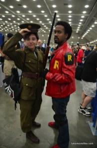 Baltimore Comic Con 2016 - soldier and Duke Thomas