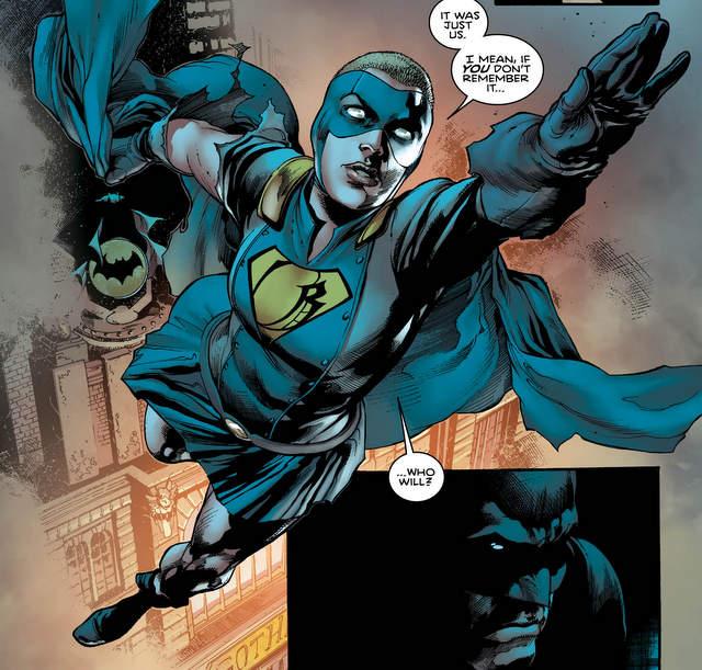 Batman #6 I am Gotham Epilogue - Gotham Girl flying