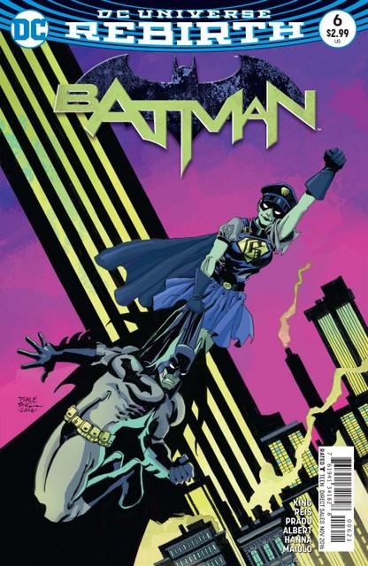 Batman #6 I am Gotham Epilogue - variant cover