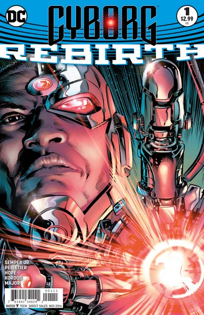 Cyborg Rebirth #1 cover