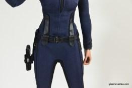 Hot Toys Maria Hill figure - belt closeup