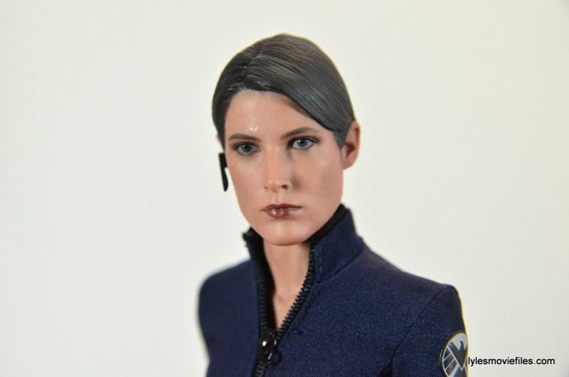 Hot Toys Maria Hill figure -profile pic