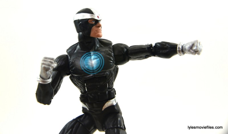 Marvel Legends Havok figure review - aiming