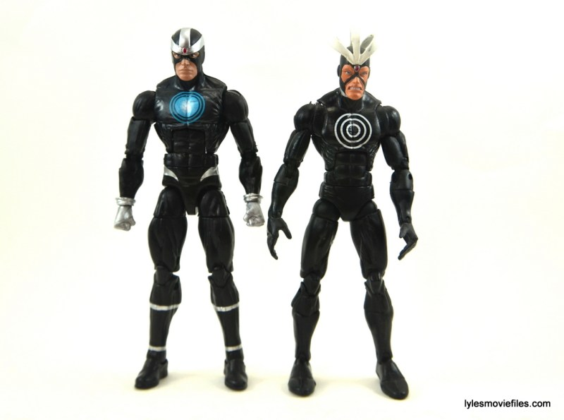 Marvel Legends Havok figure review -comparison with Toy Biz Havok