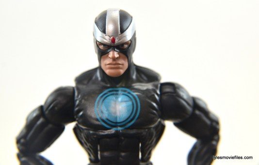 Marvel Legends Havok figure review - head paint job