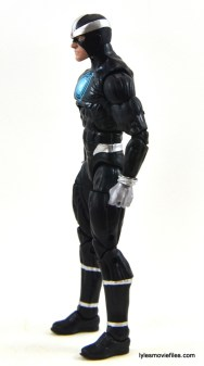 Marvel Legends Havok figure review -left side