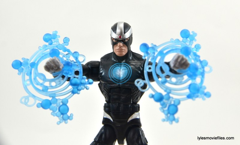 Marvel Legends Havok figure review - power blasts