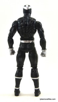 Marvel Legends Havok figure review - rear