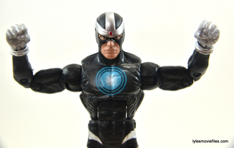 Marvel Legends Havok figure review -wide shot