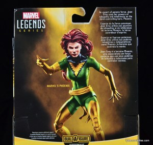 Marvel Legends Phoenix figure review - bio