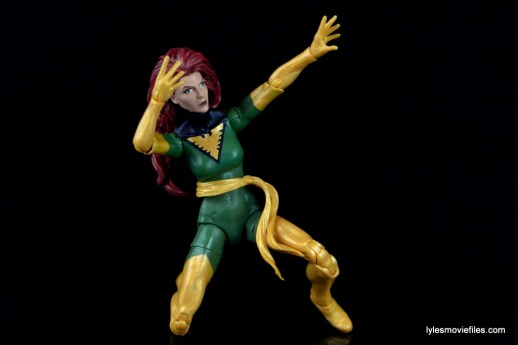 Marvel Legends Phoenix figure review -kneeling