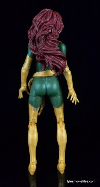 Marvel Legends Phoenix figure review -rear