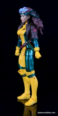 Marvel Legends Rogue figure review - left side