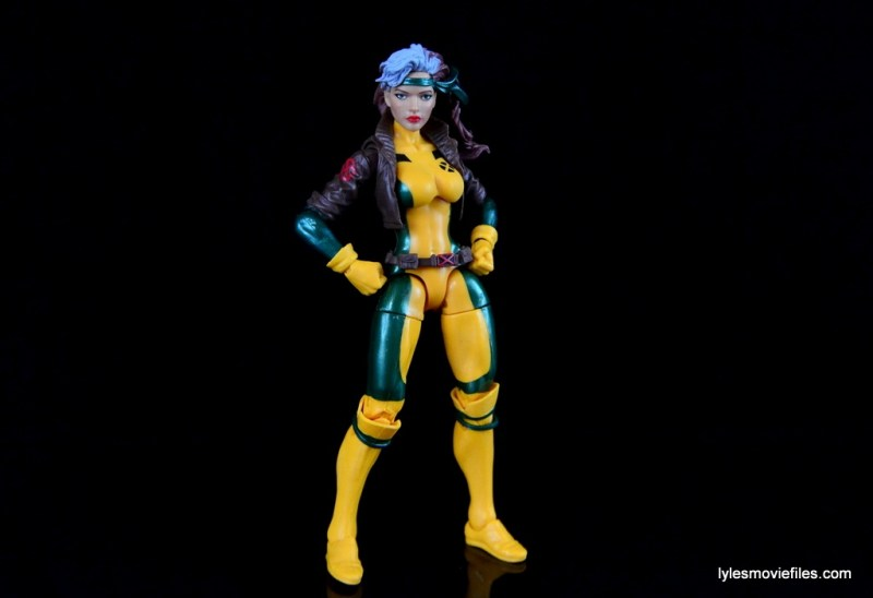 Marvel Legends Rogue figure review - wide stance