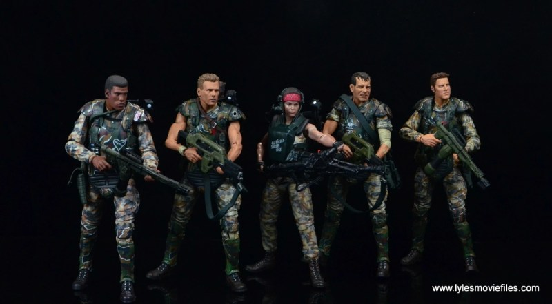 neca-aliens-series-9-pvt-jenette-vasquez-with-frost-hicks-hudson-and-windrix