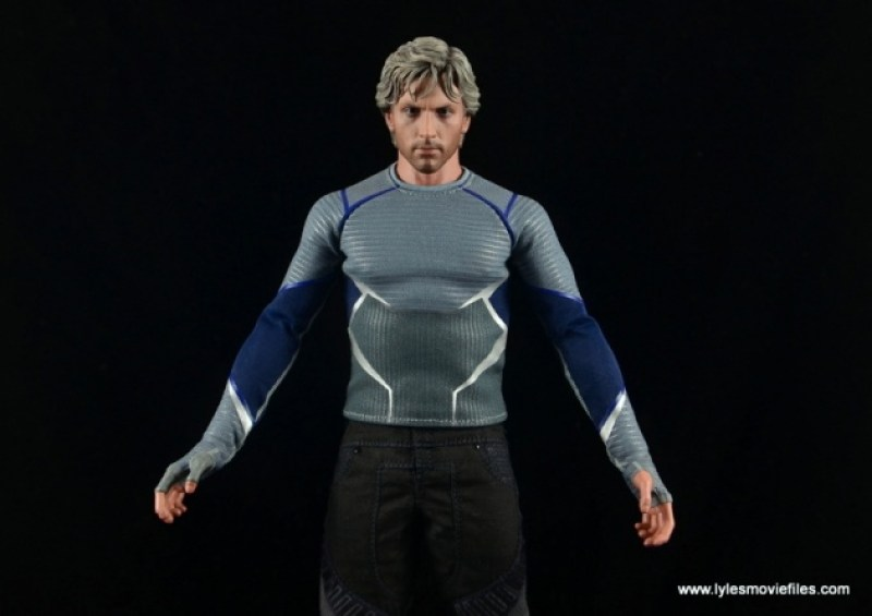 Hot Toys Quicksilver figure review - outfit detailing