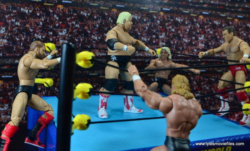 wwe-hall-of-fame-dusty-rhodes-figure-review-arn-anderson-lex-luger-tully-blanchard-storm-the-ring