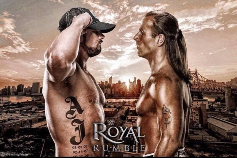 Dream Match to come image of AJ Styles vs Shawn Michaels