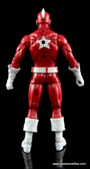 Marvel Legends Red Guardian figure review - rear