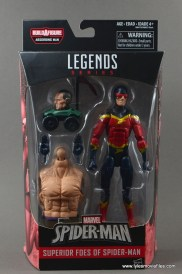 Marvel Legends Speed Demon figure review - package front