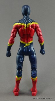 Marvel Legends Speed Demon figure review - rear