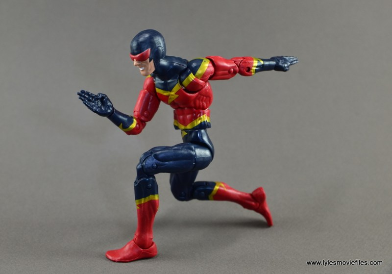 Marvel Legends Speed Demon figure review - set to run