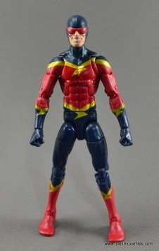 Marvel Legends Speed Demon figure review - straight