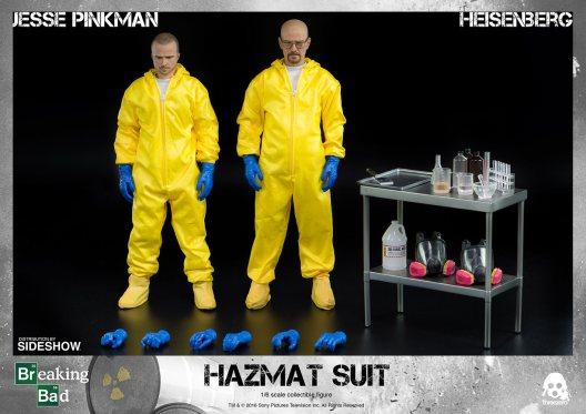 breaking-bad heisenberg jesse-hazmat-suit-combo-sixth-scale-threezero-accessories