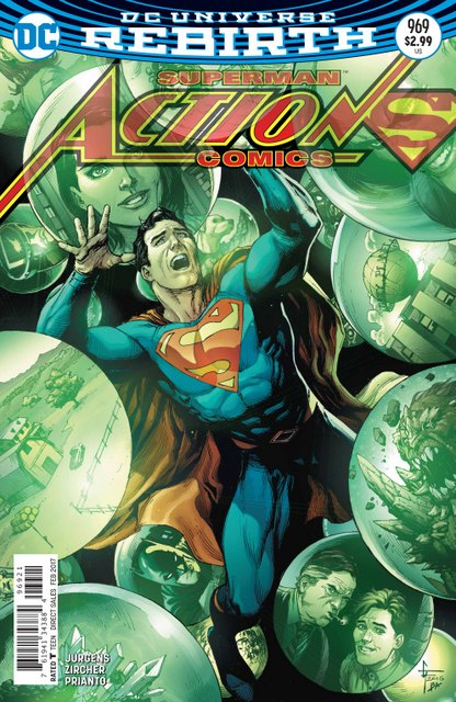 Action Comics #969 Gary Frank cover 12/14/16