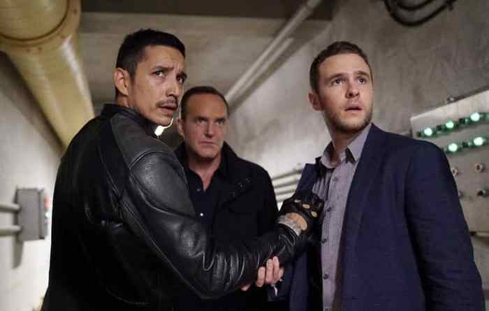 Agents of Shield Deals With Our Devils - Robbie, Coulson and Fitz